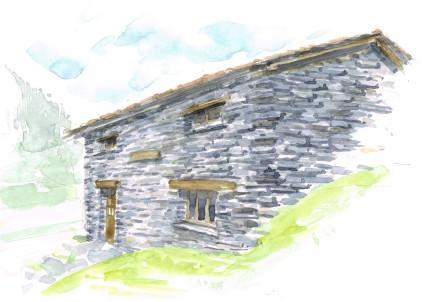 Illustration architecture Guide de la maison